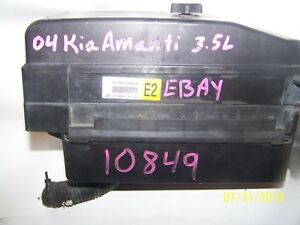details about 2004 05 06 kia amanti engine fuse box assembly  2004 kia amanti fuse box #9