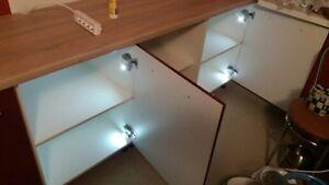 CERNIERE LED 10 pz Sistema Universale illuminazione LED -armadi ...