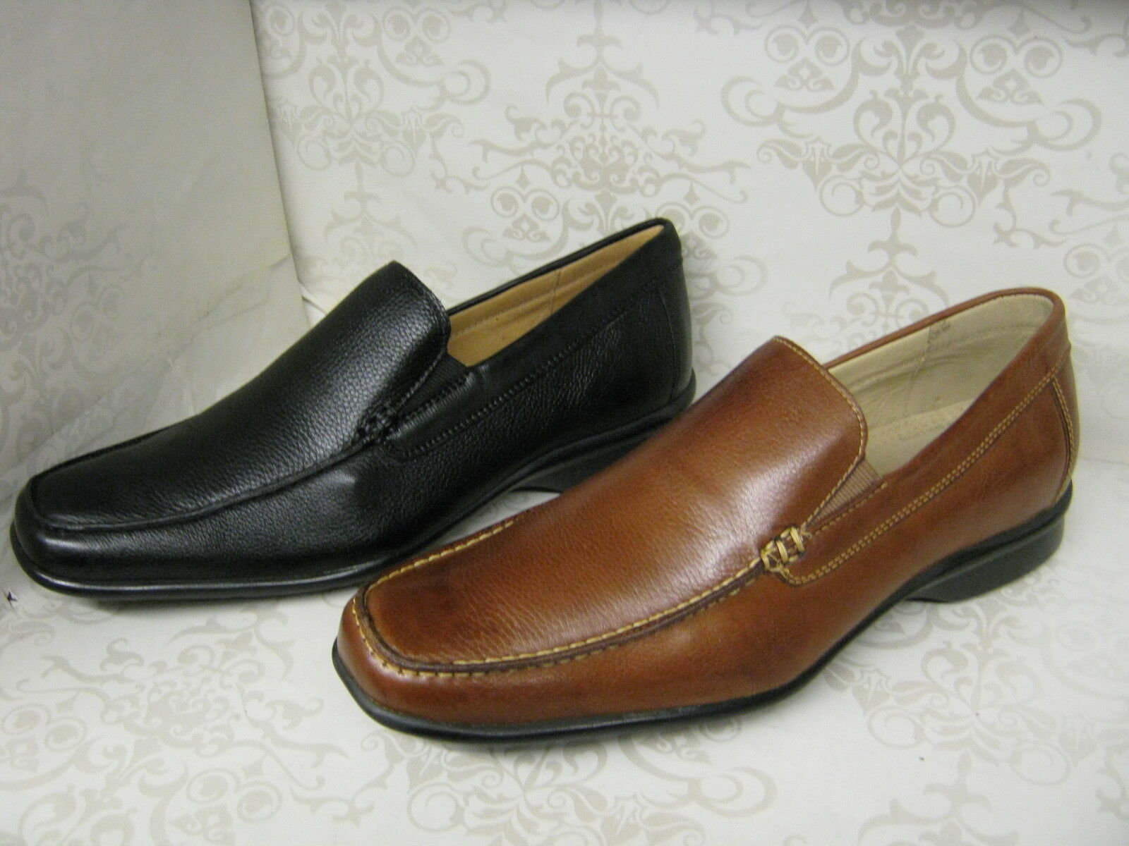 Hombre Leather Anatomic & Co Canudos 323240 Cognac Or Negro Leather Hombre Slip On Moccasin zapatos f64f1b