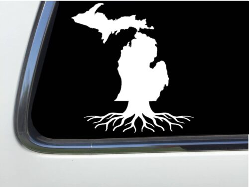 "ThatLilCabin MIchigan MI ROOTS Michigan 6/"" decal AS1013"