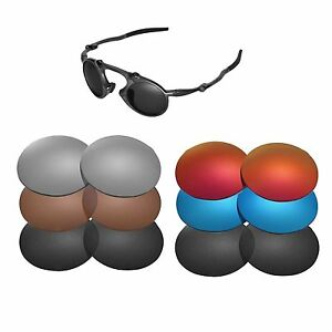 d1a7c1dffb Image is loading Walleva-Replacement-Lenses-for-Oakley-Madman-Sunglasses -Multiple-