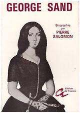 SALOMON Pierre - SAND George - 1984