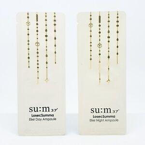 SU:M37 LosecSumma Elixir Ampoule Duo Day & Night 1ml x 40pcs Anti Aging K-Beauty