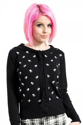 Jawbreaker Polkaskulls Cardigan - Goth/Punk/Alternative/50's Rockabilly/Skull