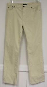 Pants Plus Straight Pana Lauren New Jeans Cream Co 16w Classic Ralph tTxwq