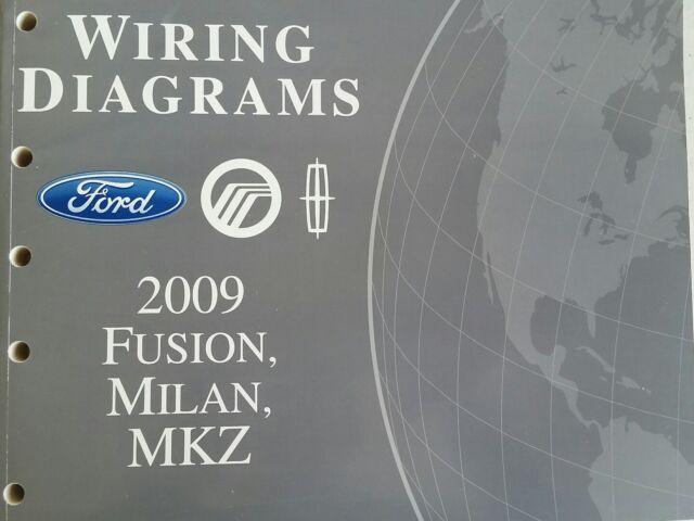 2009 Ford Fusion  Milan  Mkz Wiring Diagrams