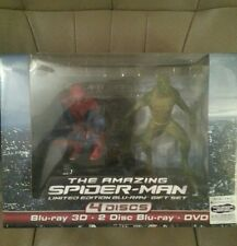 The Amazing Spider-Man LIMITED EDITION GIFT SET (Blu-ray 3D+2D + DVD) BRAND NEW