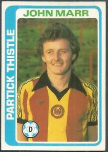*PICK THE CARDS YOU NEED* F TOPPS 1979 SCOTTISH RED BACK FOOTBALLERS