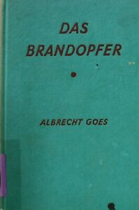Das-Brandopfer-Goes-Albrecht-Very-Good-Book