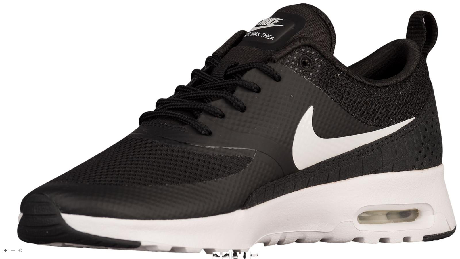 Neuer Air Frauen Nike Air Neuer Max Thea Schuh Größe:12 Farbe: Schwarz/Weiß 528e07
