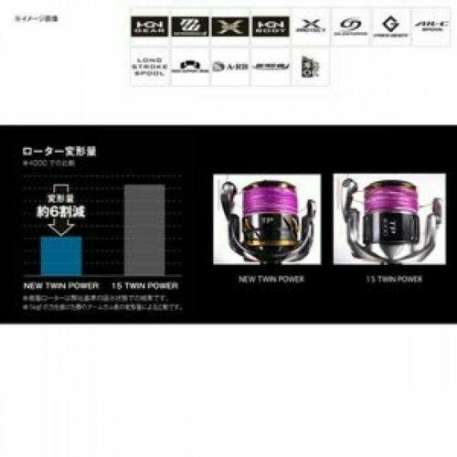 2020 SHIMANO Reel 20 Twin Power 4000 Made in Japan