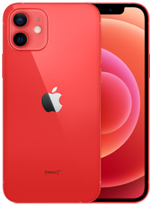 Apple iPhone 12 mini - 64GB - Rot (Ohne Simlock) NEU OVP