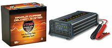 Marine Downrigger Battery 12V 60Ah [VMAX MR96] +[VMAX 12V 15Amp Smart Charger]