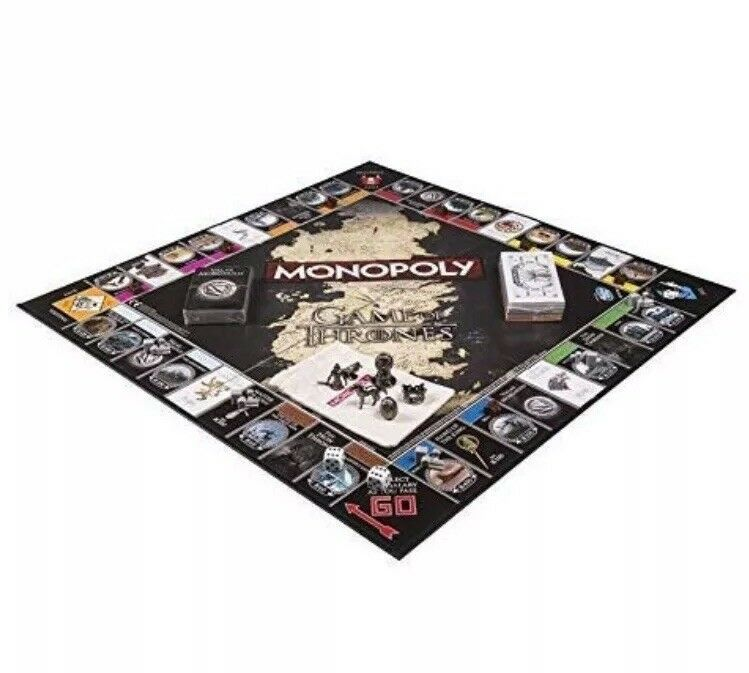 Game Of Thrones Monopoly Monopoly Monopoly Collectors Edition Board Game Free Next Day Delivery c0b3ec
