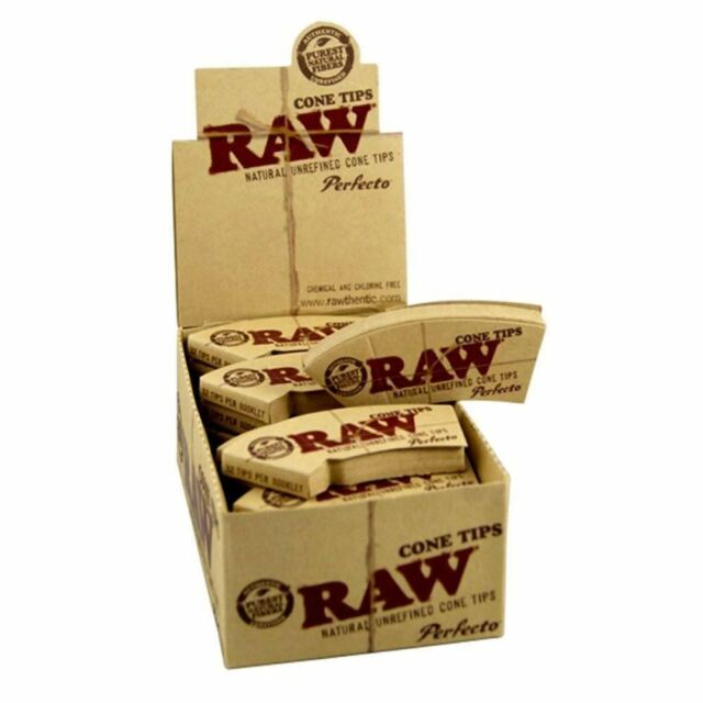 RAW Natural Unrefined Tips X4