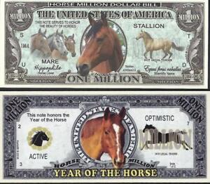 Lot of 2 notes featuring 🌎🐴 HORSES ~ Fantasy Notes 🐴🌎 Nice colors and design