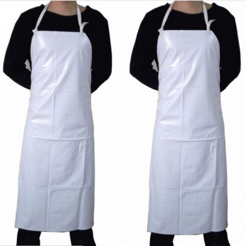 Einfache Schürze Tow Pocket Chefs Butcher Küche Kochen Handwerk Catering Backen
