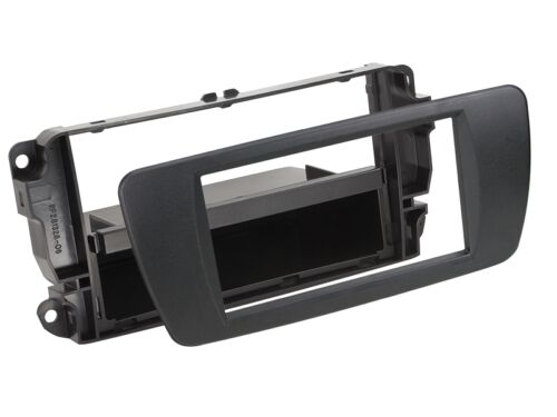 Seat Ibiza 6j a partir de 08 1-din radio del coche Kit de integracion nitschwarz volante adaptador