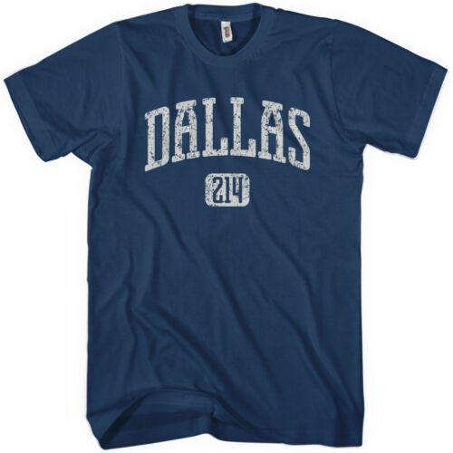Area Code 214 Texas Big D NEW XS-4XL DALLAS T-shirt