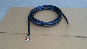US MADE  LMR-400  N Male to N Male Cb Ham Radio 50 ohm  COAX CABLE Antenna 15 FT