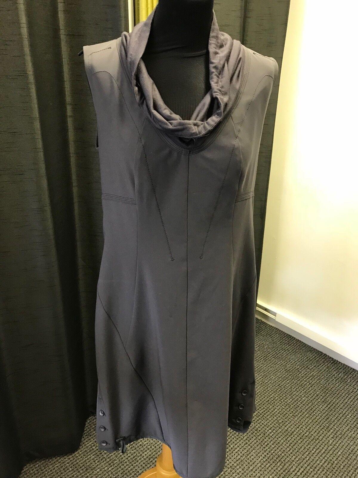 Eva Kayan Tunic Dress Grey Size 42