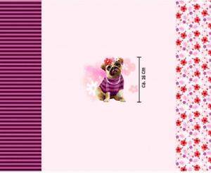 Jersey Öko Tex sustancia panel paneles stoffpanel menso perro perros niños 10555