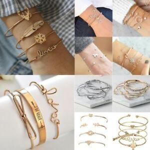 Fashion-Charm-Women-Stainless-Steel-Lots-Style-Cuff-Open-Bracelet-Bangle-Chain