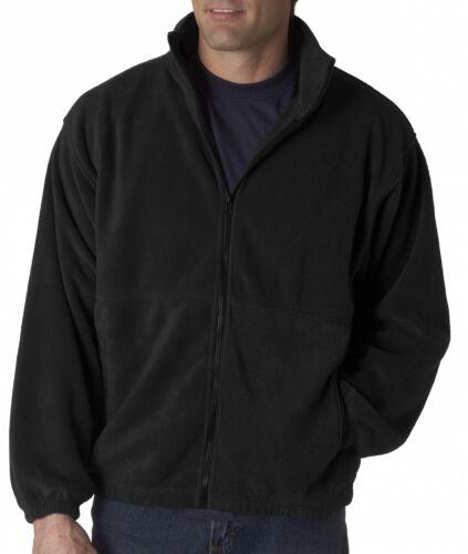 UltraClub Mens Iceberg Fleece Full-Zip Jacket 8485