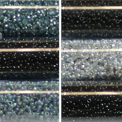 Miyuki Rocailles 15//0 rund 1,5 mm mit goldschimmer 5g = 1 Röhrchen