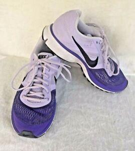 296e0b385ee1 Nike Pegasus 30 Size 7.5 Fitsole Athletic Running Shoes Purple White ...