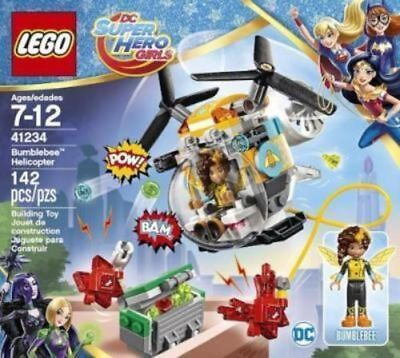 LEGO DC Super Hero Girls Bumblebee Helicopter NIB SHIPS FREE