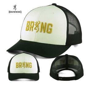 55c4bdd326281 Image is loading Yupoong-Browning-Buckmark-Adjustable-Baseball -Trucker-Hat-Cap-