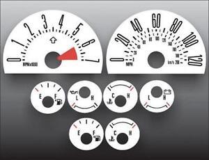 2005-2007-Ford-Mustang-120-mph-V6-Dash-Cluster-White-Face-Gauges-05-07
