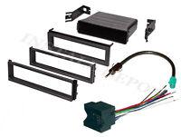 Complete Radio Install Kit Vw Jetta Passat Dash Kit Wire Harness Antenna Adapter