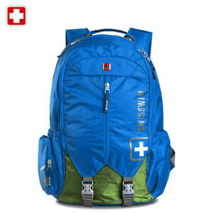 Swiss-waterproof-16-039-039-Laptop-Backpack-School-Backpack-Travel-shoulder-Bag-SW9176