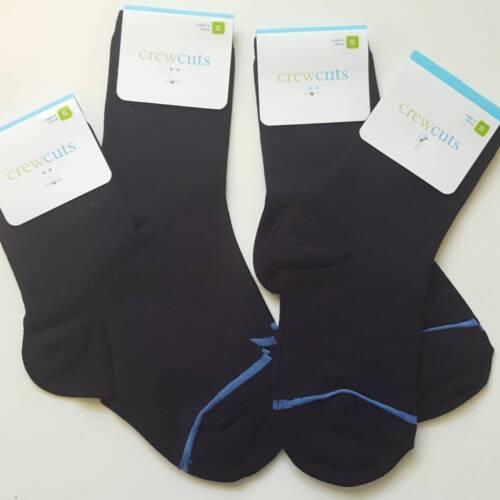 K8-K12 Size S NWT 4X Black J.Crew Boy's Dress Socks
