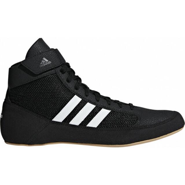 adidas Havoc Men's Wrestling BOOTS Trainer Shoes Adult UK 13.5 Boxing MMA AQ3325