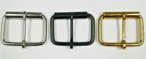 Plain Belt Buckle Nickel Plated Black Brass 1 10 50 pcs High Quality Durable lot