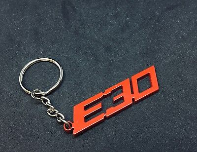 BMW E90 Chassis Stainless steel Key Chain Black Powder coated
