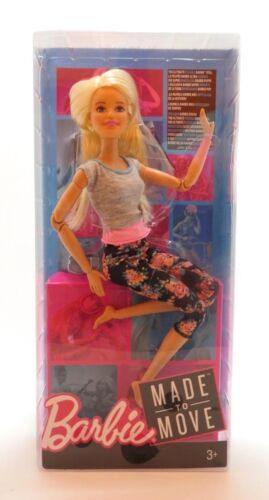 Barbie Made to Move Doll Blonde Hair