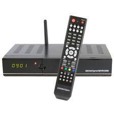 GEOSATpro HDVR3500 Dvb-s2 Mpeg4 Satellite Receiver PVR IPTV WiFi LAN CC