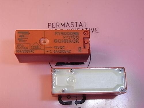 RY900098 RY211012 Relay Coil Voltage 12V 8A 250V Wechsler CO SCHRACK
