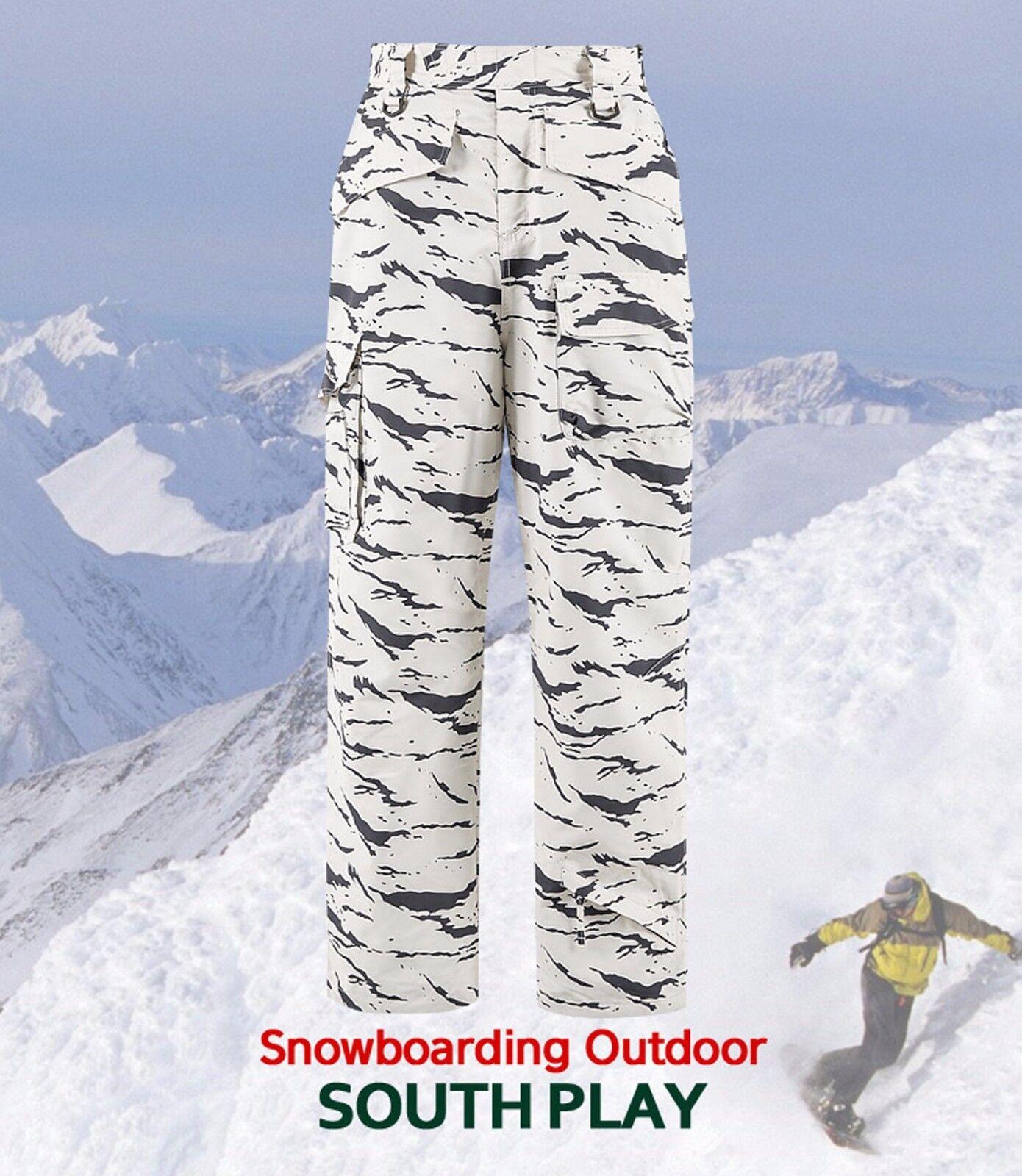 SouthPlay Herren  Herren SouthPlay Premium Waterproof Ski SnowBoard Wear Warming 4_Pants 1cd814