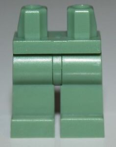 Lego-Minifig-Sand-Green-Hips-Legs-NEW