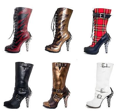 Hades Footwear Alternative Knee Boots ARMA CORINNE PYRA CLARA VARGA ETHEREAL