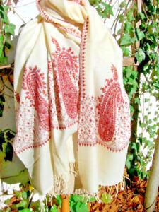 7b22ee50e938b0 Das Bild wird geladen Kaschmirschal-Wollschal-aus-dem-Kashmir-Wolltuch-Stola -von-