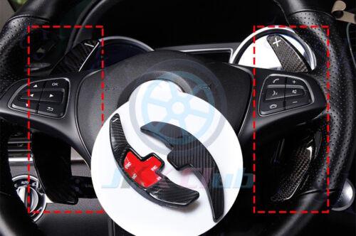 For Benz X156 W176 W205 W218 W212 Carbon Fiber j Shift Paddle Steering Wheel DSG