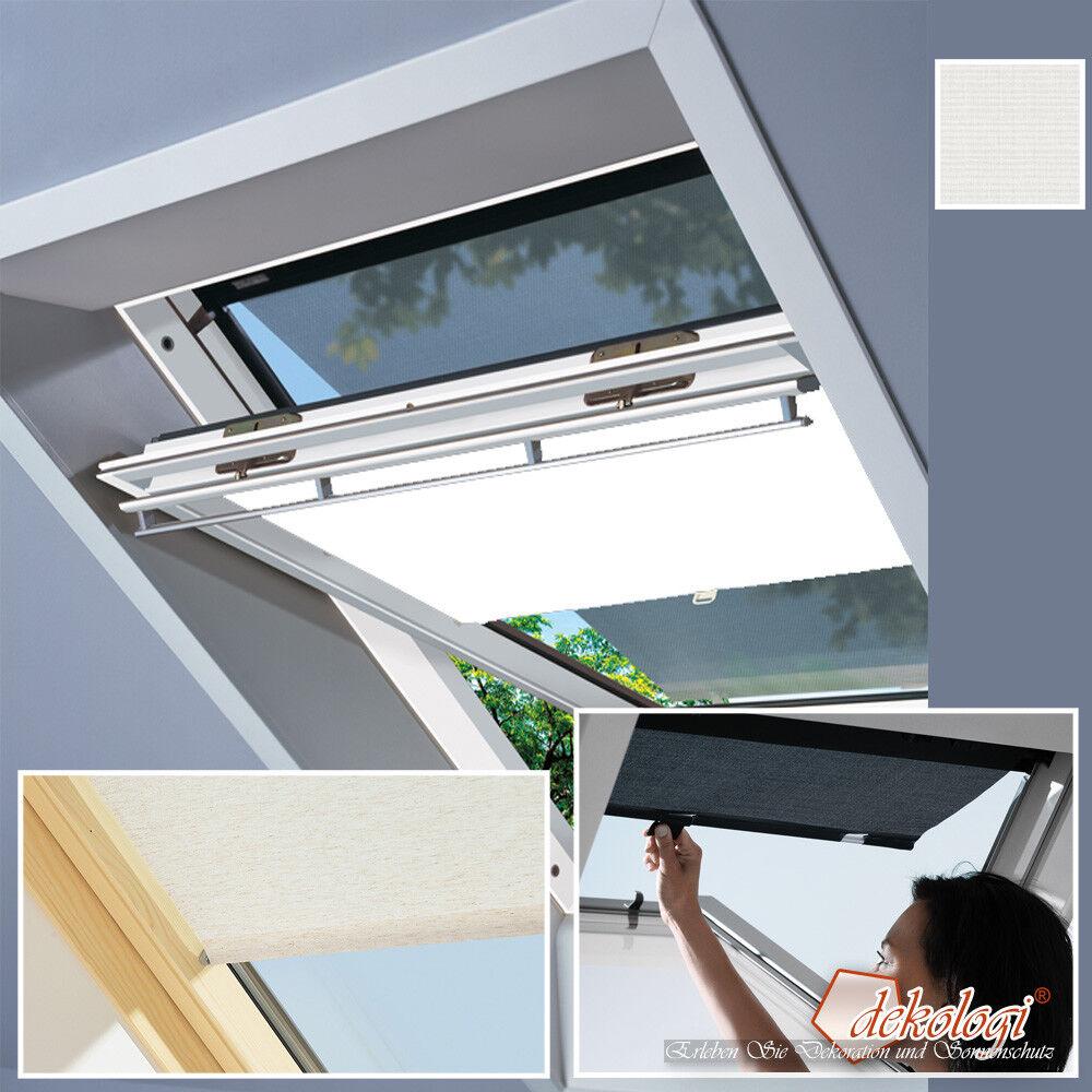 Velux Sichtschutz-Rollo + Hitzeschutzmarkise für Dachfenster Dachfenster Dachfenster GGU GPU GTU GHU ROP    Sehr gute Farbe  422d00