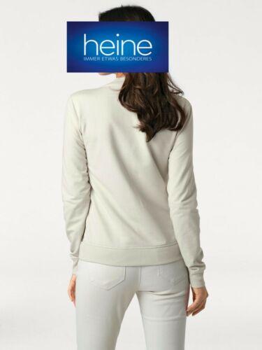 KP 59,90 € /%SALE/% Best Connections Heine NEU!! Sweatjacke B.C beige