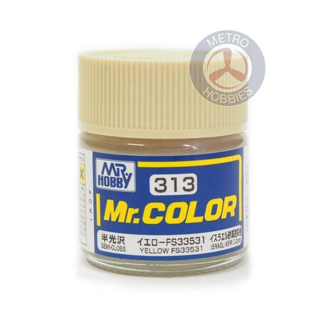 Gunze C313 Mr Color Semi Gloss Yellow FS33531 Brand New